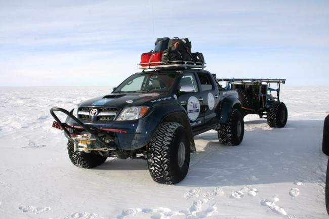 Toyota Hilux : The South Pole Sojourn