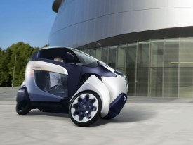 Toyota i-ROAD Concept Revealed Ahead of Geneva Debut