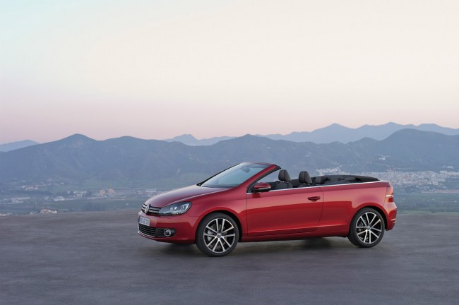 New Volkswagen Golf Cabriolet
