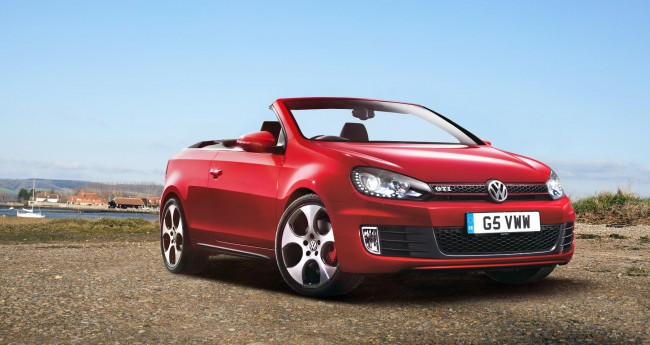 Volkswagen Golf GTI Cabriolet Now Available To Order, Priced At £29,310