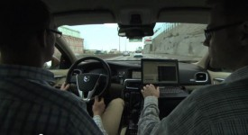 Volvo's Autonomous Traffic Jam Assistance in Action [VIDEO]