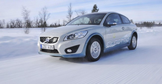 Volvo C30 EV Tested in Extreme Cold [VIDEO]
