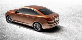 Ford Escort Concept debuts at the Shanghai Auto Show