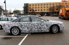 2014 Audi A8 Facelift spied for the first time
