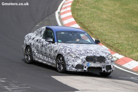 2014 BMW 2 Series Coupe caught testing at the Nürburgring Nordschleife