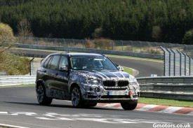 2014 BMW X5 spied at the Nürburgring, reveals some of its interior