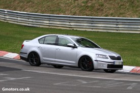 New Skoda Octavia RS caught testing at the Nürburgring