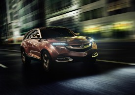 Acura Concept SUV-X debuts in Shanghai, production model to arrive in three years