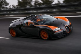 Bugatti Veyron Grand Sport Vitesse sets new world record