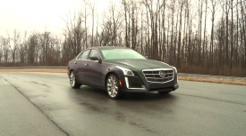 New Cadillac CTS saloon – first driving video