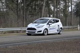 Ford Fiesta eWheelDrive prototype with in-wheel electric motors revealed [video]