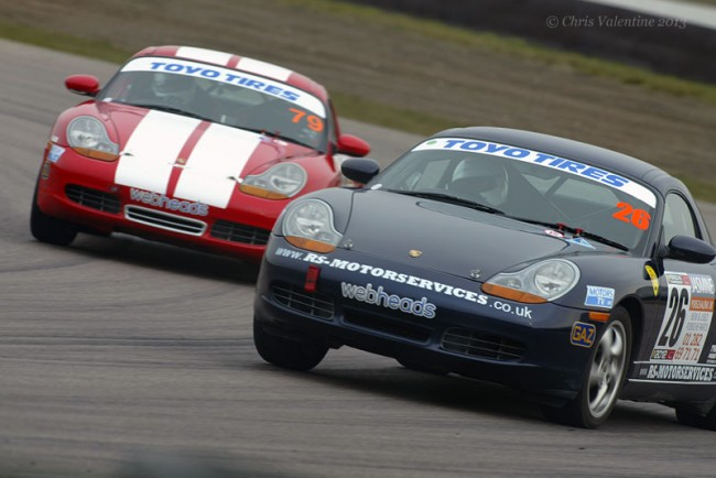 Class B Boxsters battle
