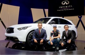 Inspired by a modern Formula One legend – the Infiniti FX Vettel Edition