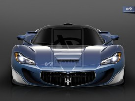 Ferrari LaFerrari-based Maserati supercar rendered