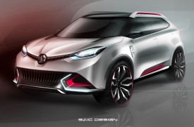 MG CS Concept previewed for Shanghai debut