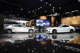 Maserati Ghibli debuts at the Shanghai Auto Show