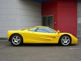 1996 McLaren F1 with zero miles up for sale in Japan