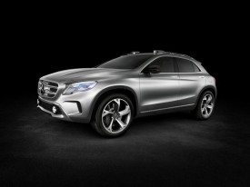 Mercedes-Benz GLA Concept revealed