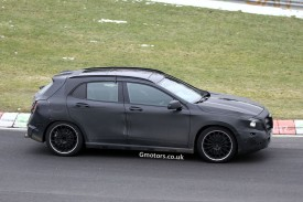 Mercedes-Benz GLA 45 AMG spied for the first time on the Nürburgring