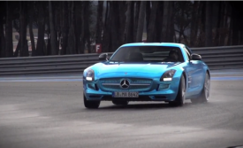 Mercedes SLS AMG Electric Drive review by Chris Harris