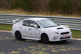 Next Subaru WRX STi caught again &#8211; this time on the Nrburgring