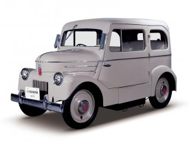 Watch Nissan introduce a 1947 Tama EV