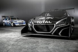 Peugeot 208 T16 Pikes Peak race car revealed