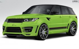 New Range Rover Sport by Lumma Design