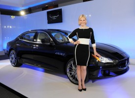New Maserati Quattroporte makes its UK debut in London
