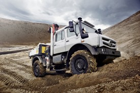 New Mercedes-Benz Unimog revealed