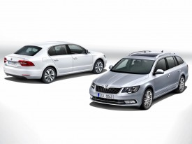 2013 Skoda Superb facelift priced from £18,555