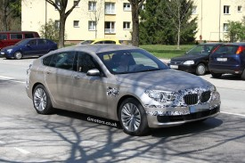 2014 BMW 5 Series facelift – all models spied less disguised