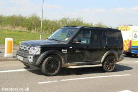 2014 Land Rover Discovery Facelift caught for the first time