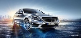 2014 Mercedes-Benz S-class – new interior photos