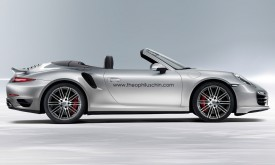 New Porsche 911 Turbo Cabriolet rendered