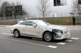 2015 Mercedes-Benz S-Class Coupe spied again