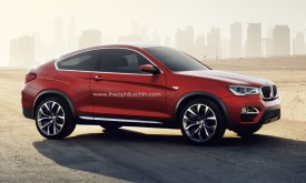 BMW X4 Coupe rendered