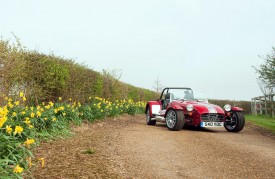 Caterham celebrates 40th anniversary with a free limited edition pack for the iconic Seven