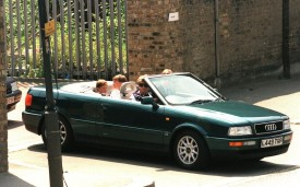 1994 Audi Quattro convertible once owned by Princess Diana to be auctioned on June 29th