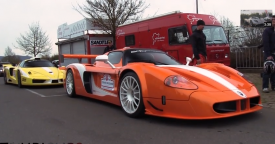 Maserati MC12 Corsa vs. Ferrari Enzo ZXX by Edo Competition on the Nürburgring