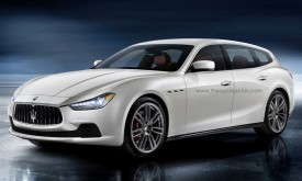 Maserati Ghibli Estate rendered
