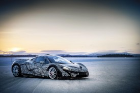 McLaren P1 tested to extremes at the Arctic Circle in northern Sweden [video]