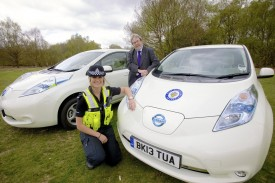 West Midlands Police gets 30 Nissan Leafs, will be used as &#8216;diary&#8217; cars