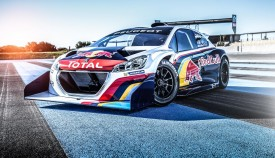 Peugeot 208 T16 Pikes Peak gets a colourful livery