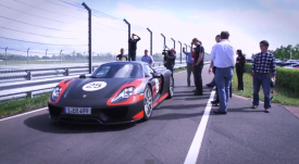 Watch Chris Harris drive the Porsche 918 Spyder development car