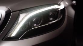 2014 Mercedes S-Class teased in an official video