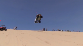 Watch the farthest ever dune jump at Silver Lake