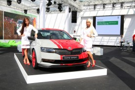 Skoda Rapid Sport Concept debuts at Wörthersee