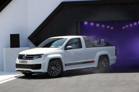 Volkswagen Amarok Power-Pickup concept revealed
