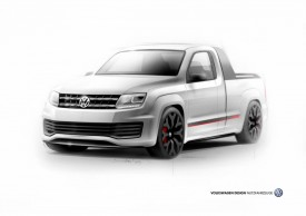 Volkswagen Amarok R-Style Concept previewed for Wrthersee